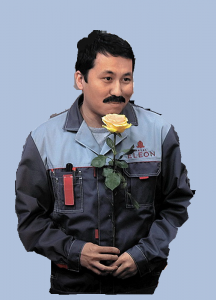 Актер Жаннат Керимбаев в роли Айбека