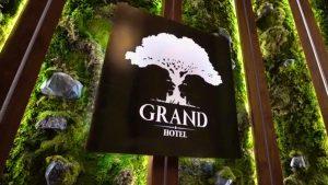 Логотип отеля Гранд Лион